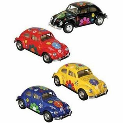 Flower Power Classic VW Beetle