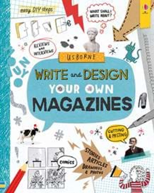 Write & Design Your Own Magazine