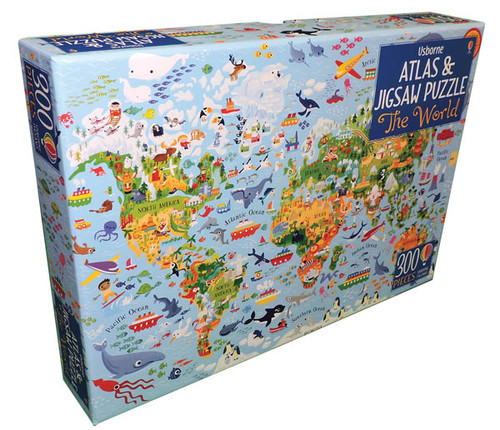 The World Atlas & Jigsaw Puzzle