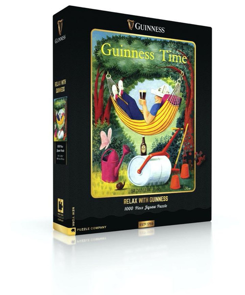 Relax With Guinness 1000 pc Puzzle
