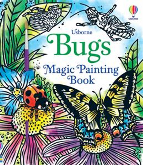 Magic Painting Book Bugs