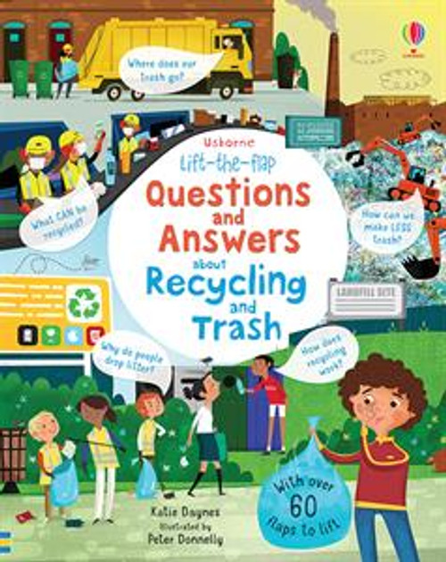 Lift-the-Flap Q&A About Recycling and Trash