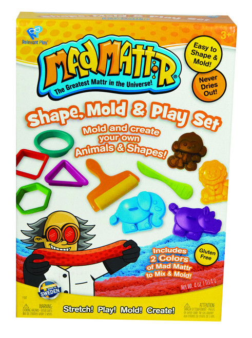 Mad Mattr Shape, Mold, and Play Set