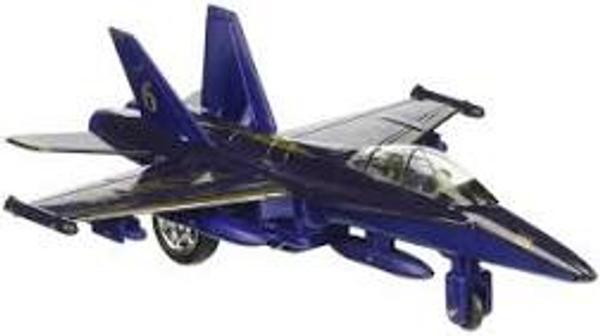 Blue Angel Diecast Jet