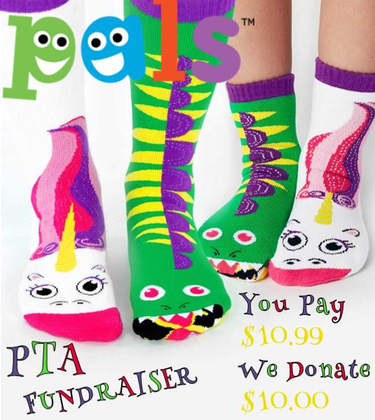Pals Socks PTA Fundraiser