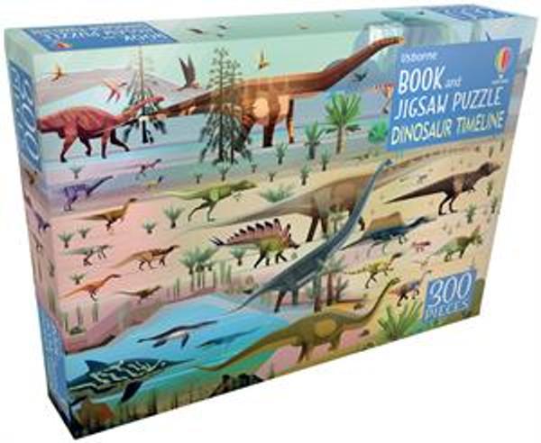 Dinosaur Timeline Book & Jigsaw Puzzle