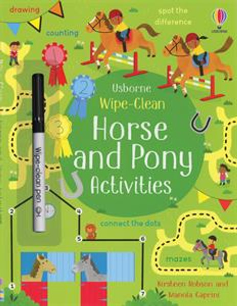 Wipe-Clean Horse and Pony Activities