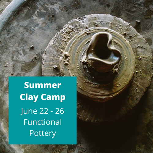 Functional Pottery Summer Camp