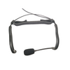 Replacement Headset  Microphone Strap for Emic, AH8, AH7 & QE - Stretchable Neoprene - Shown on QE mic...mic not included!