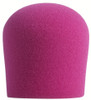 NEON PINK SupremeFit™ Handheld Microphone Windscreen