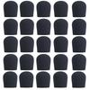 BLACK SupremeFit™ Handheld Microphone Windscreen - 25PAK