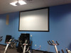 Paint On Screens at World Gym, Lewisville, TX