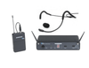 Samson Concert 88 Headset - 16-Channel True Diversity UHF Wireless System with Samson QEP3 Sweat-Resistant Headset