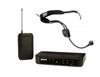 Shure BLX UHF System(BLX4 Receiver + BLX1 Beltpack) +  Shure WH-20TQG Pro Headset