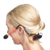 Fitness Audio MT-U8-II UHF Combo Wireless Mic System with E-mic Fitness Headset - Red shown