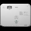 NEC NP-ME361W 3600-lumen Projector - Top View