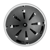"""JBL C65PT Compact Full-Range Pendant Speaker - 5-1/4"""" Wide - White no grill"""