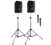 Anchor Audio LIB-DP2- Liberty DELUXE Package 2 - Liberty Deluxe Package 2 includes LIB2-U2, LIB2-COMP, SC-50NL, 2 SS-550, and choice of 2 wireless handheld mic or headband and lapel mic with beltpacs