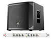 Optional Subwoofer Package Includes: Electro-Voice ELX-200-12SP Powered Subwoofer 1200W RMS DBX-223XSV Stereo Crossover