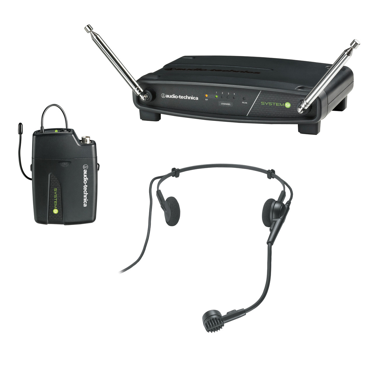 Audio Technica ATW-327 VHF Wireless Microphone or Guitar SYSTEM