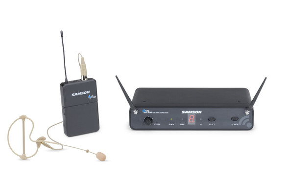 Samson SWC88BLM10-D Concert 88 Wireless Earset System with SE10 Earset (CB88/CR88) - D Band