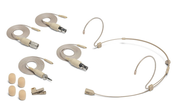 Samson DE60x - Unidirectional Headset Microphone with Miniature Condenser Capsule - All components included