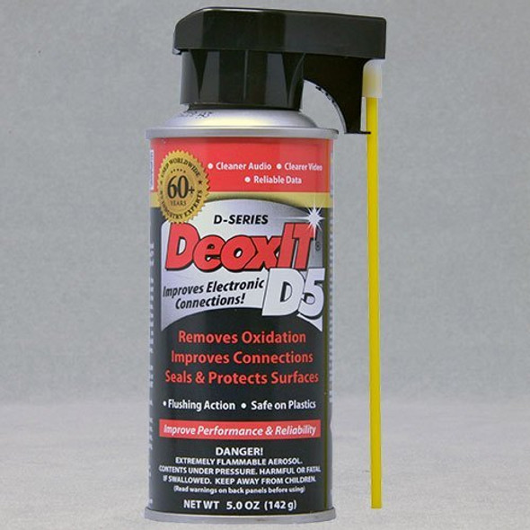 DeoxIT® D5S-6 Contact Cleaner & Rejuvenator
