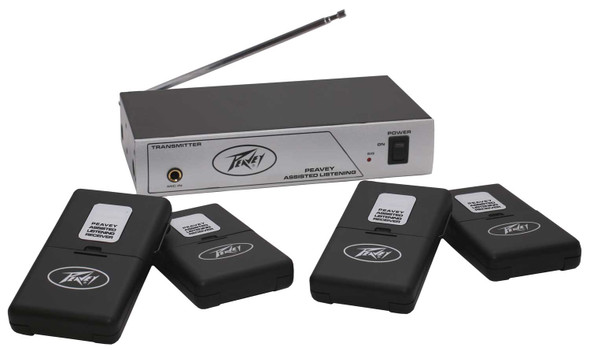 Peavey Assisted Listening System 72.9 MHz