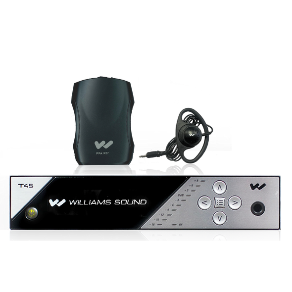 Williams Sound FM 457 Personal PA® FM Assistive Listening System - 72-76 MHz