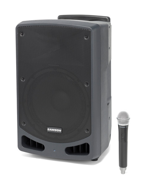 "Samson Expedition XP312w 300-Watt 12"" Portable Powered PA with Wireless Handheld Microphone, Rechargeable Batteries and Bluetooth®"