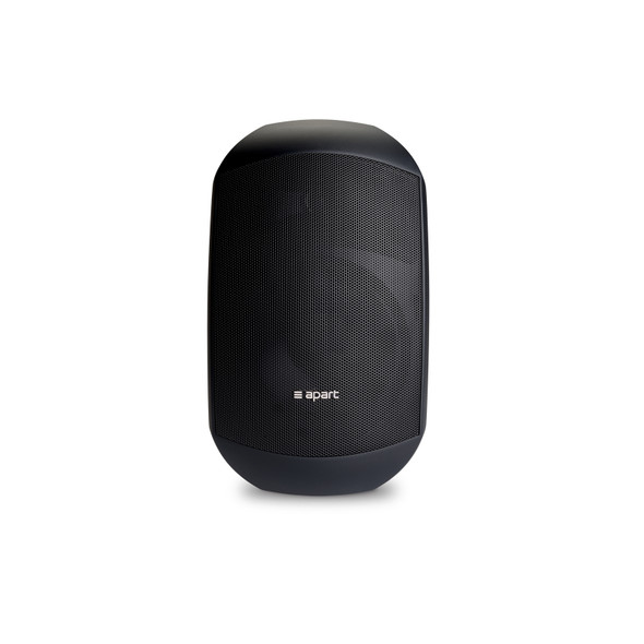 "Apart Audio MASK6C-BL 6.5"" design two-way loudspeaker black with Clickmount system - BLACK"
