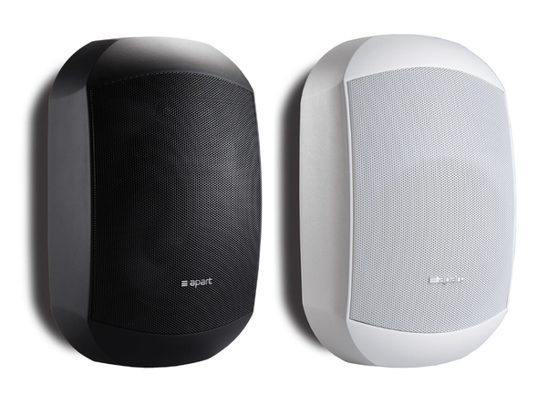 "Apart Audio MASK6C-BL 6.5"" design two-way loudspeaker black with Clickmount system - BLACK or WHITE"