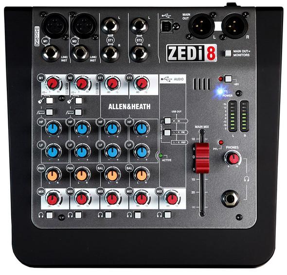 Allen & Heath AH-ZEDi-8 Hybrid Compact Mixer / USB Interface