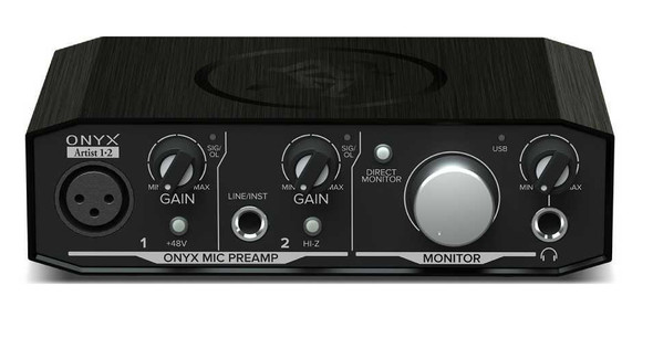 Mackie Onyx Artist 1•2 2-in x 2-out USB Interface