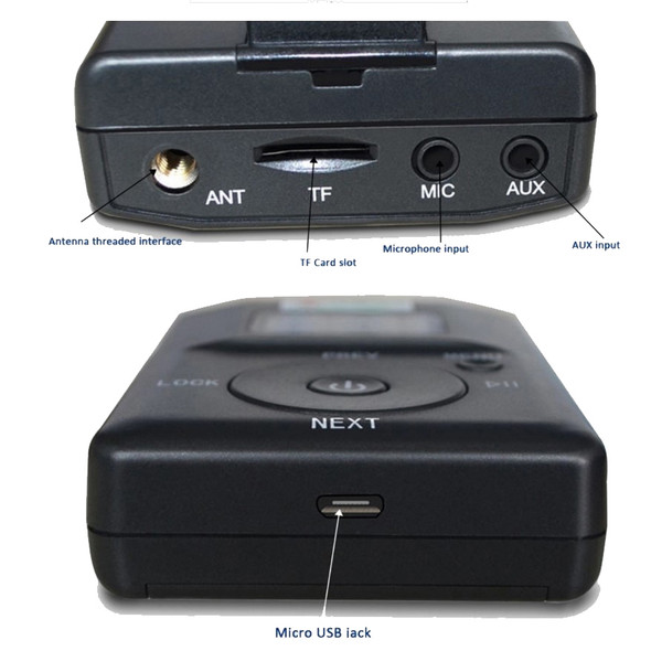ARG FM Transmitter - Input Jacks
