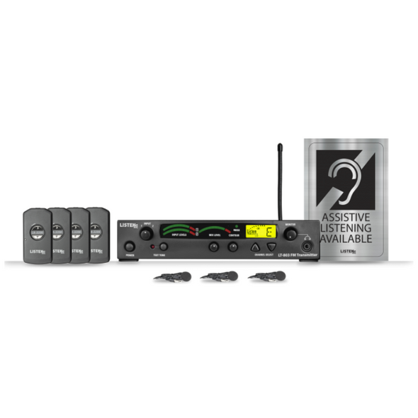 Listen Technologies Assistive Listening DSP Value Package (72 MHz)