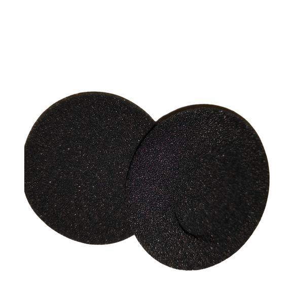 Headphone Ear Covers - Foam Replacements - 50 foams (25 Pair)