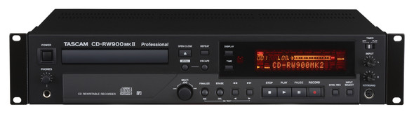 Tascam Professional CD-RW900MKII Rewritable CD Recorder/Player