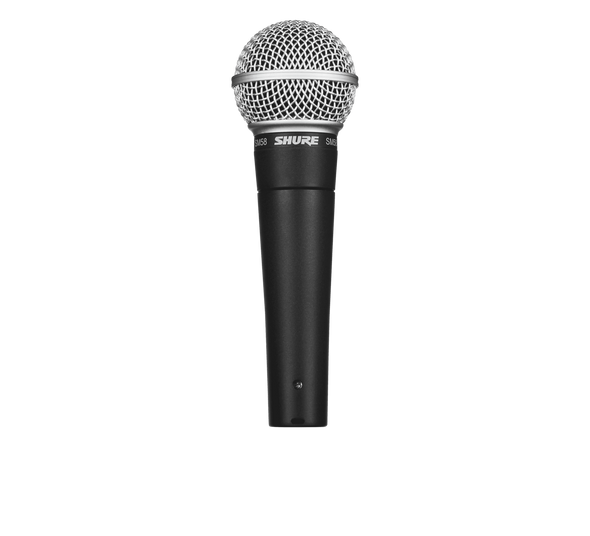Shure SM-58LC Dynamic Handheld Microphone