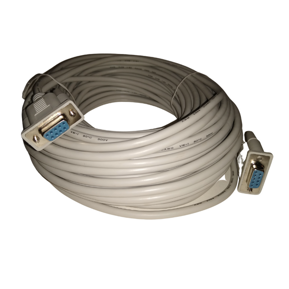 DB9 Female to DB9 Female Serial Cable 100' - OPEN BOX CLEARANCE