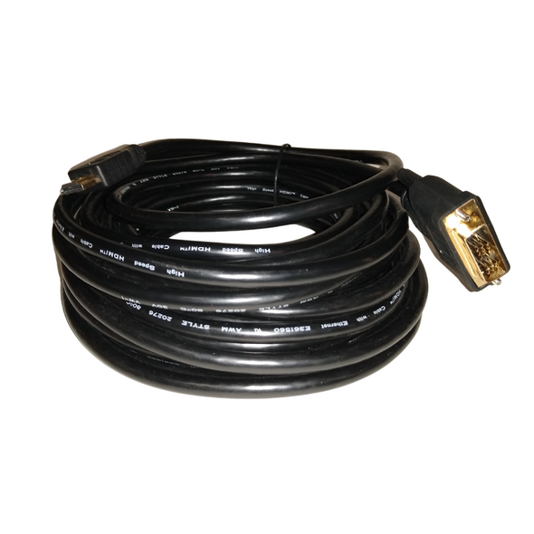 25' HDMI Male – DVI-D Cable - 2-PAK