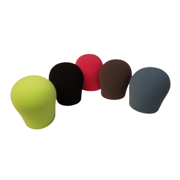 "Specialty Microphone Windscreens 1 3/8"" ID by SupremeFit™ 5-PAK MULTICOLOR CLEARANCE"