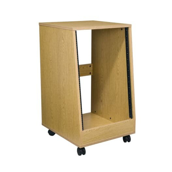 OSR Series Sloped Oak Rolling Rack - OSR16