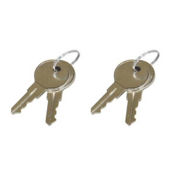 Middle Atlantic SRD Front (2) & SFD Rear (2) Rack Door Keys OPEN BOX CLEARANCE