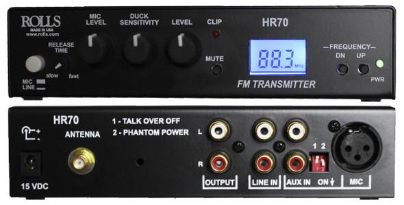 ROLLS HR70 FM Broadcast Transmitter