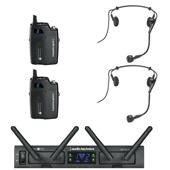 ATSYS10DUAL/H – Dual system with 2 PRO8HEcw headsets