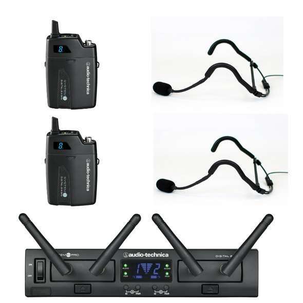 ATSYS10DUAL/E – Dual system with 2 Emic headsets