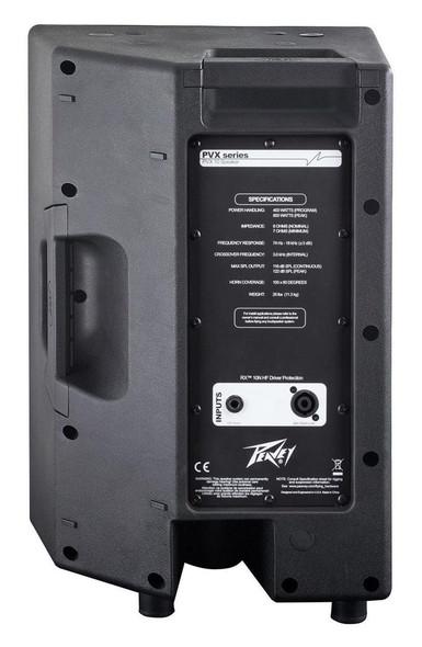 Peavey PVX Series Passive Speakers - PVX 10/12/15 - Rear view