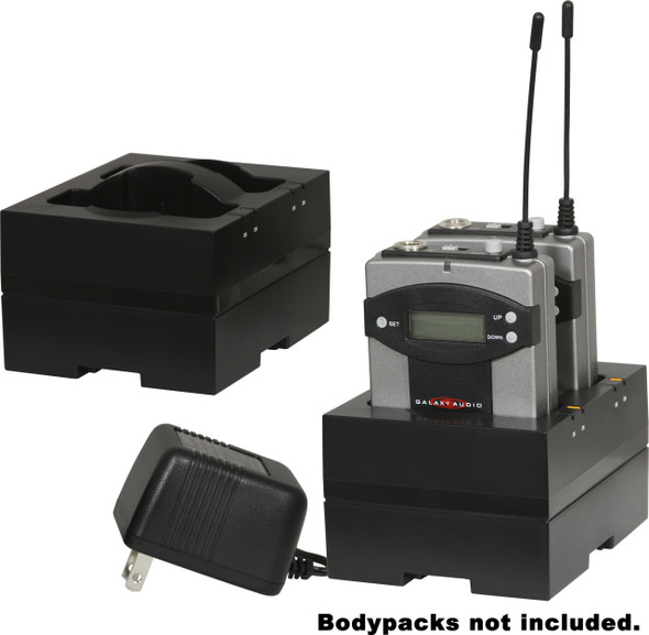 Galaxy Audio Bodypackack Charger AS-DCTVMBP. Bodypacks not included