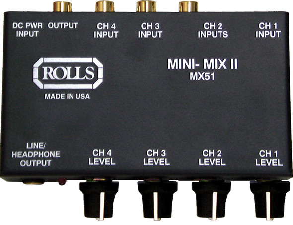 MX-51 4-Channel Mixer